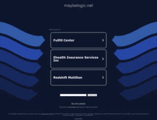 maybelogic.net screenshot