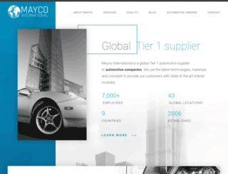 maycointernational.com screenshot