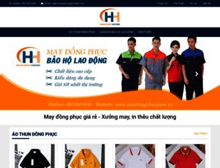 maydongphucgiare.vn screenshot