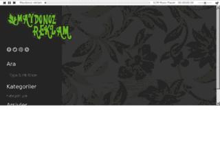 maydonozreklam.com screenshot