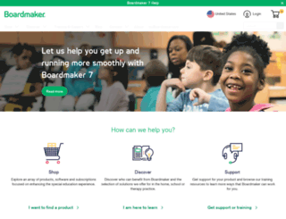 mayer-johnson.com screenshot