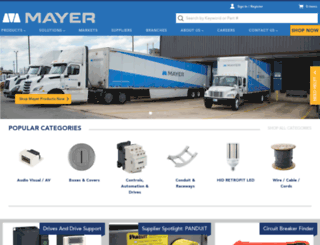 mayerelectric.com screenshot