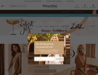 mayerline.be screenshot