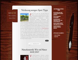 mayers-notizblog.de screenshot