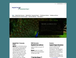 mayfieldpark.org screenshot