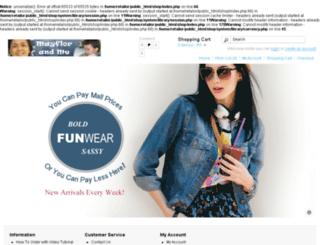 mayflorandme.retailorders.net screenshot
