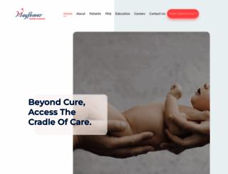 mayflowerhospital.com screenshot