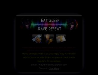 mayhem-zone.com screenshot