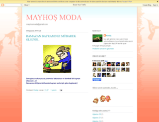 mayhosmoda.blogspot.com screenshot