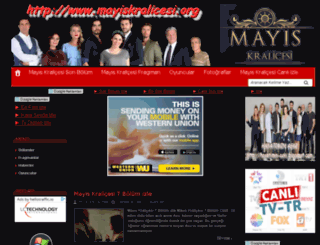 mayiskralicesi.org screenshot