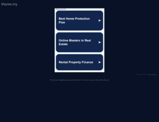 maylea.org screenshot
