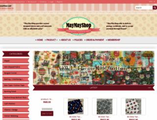 maymayshop.com.my screenshot