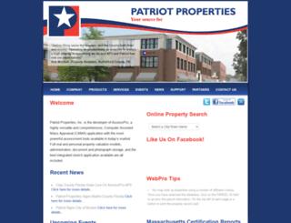 maynard.patriotproperties.com screenshot