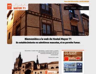mayor71.es screenshot