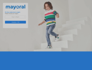 mayoral.com screenshot