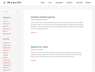 mayothi.com screenshot
