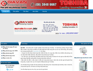 mayphotocopygiavan.dosvn.com screenshot