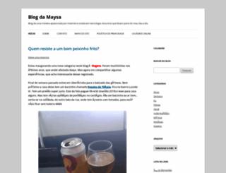 maysadecastro.com.br screenshot