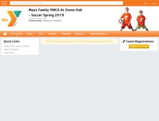 maysfamilysoccer.playerspace.com screenshot