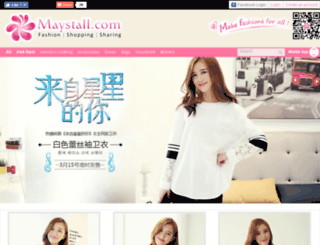 maystall.com screenshot