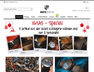 maystraps.de screenshot