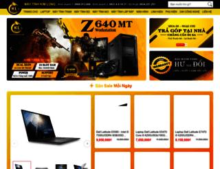 maytinhkimlong.com screenshot