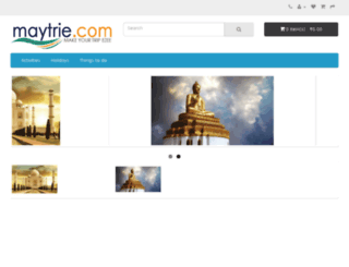 maytrie.com screenshot
