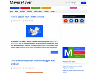 mayura4ever.blogspot.in screenshot