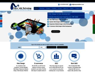 mayurwebtech.com screenshot