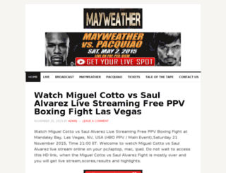 mayweather-pacquiaolivestreaming.com screenshot