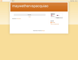 maywethervspacquiao.blogspot.com.es screenshot