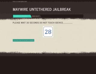 maywire.weebly.com screenshot