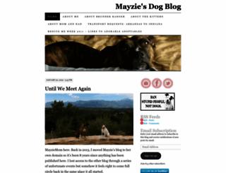 mayziegal.wordpress.com screenshot