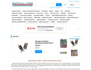 mazakzabawki.pl screenshot