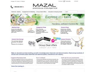 mazaldiamond.com screenshot