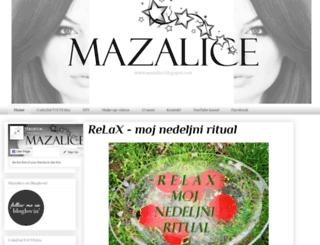 mazalice.blogspot.rs screenshot