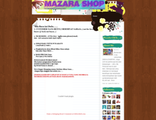mazarashop.blogspot.com screenshot