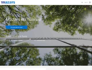 mazars.com.tn screenshot