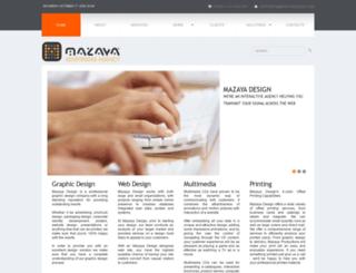 mazayadesign.com screenshot