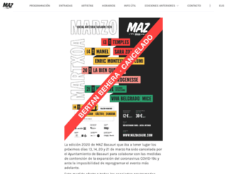 mazbasauri.com screenshot