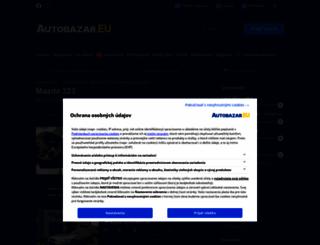 mazda-323.autobazar.eu screenshot