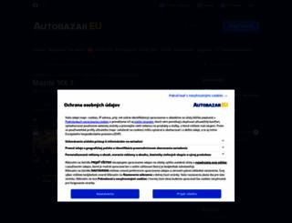 mazda-mx-3.autobazar.eu screenshot