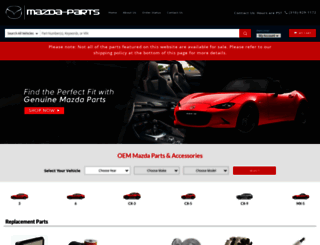 mazda-parts.com screenshot