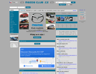 mazdaclub.cz screenshot