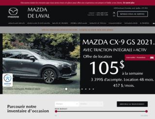 mazdadelaval.com screenshot