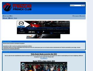 mazdafrenchclub.com screenshot