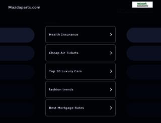 mazdaparts.com screenshot