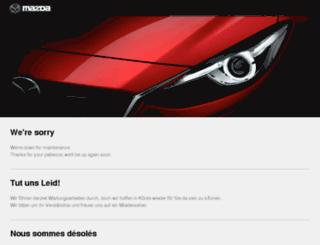 mazdatracking.com screenshot