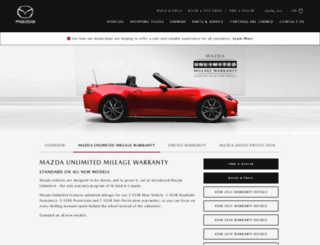 mazdaunlimited.ca screenshot
