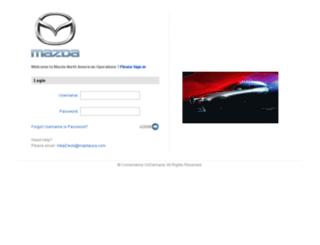 mazdausa.csod.com screenshot